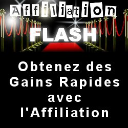 Affiliation Flash : des revenus avec l\'affiliation